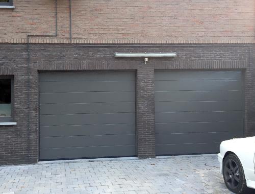 Esth tiques et solides en aluminium portes de garage for Chassis porte garage